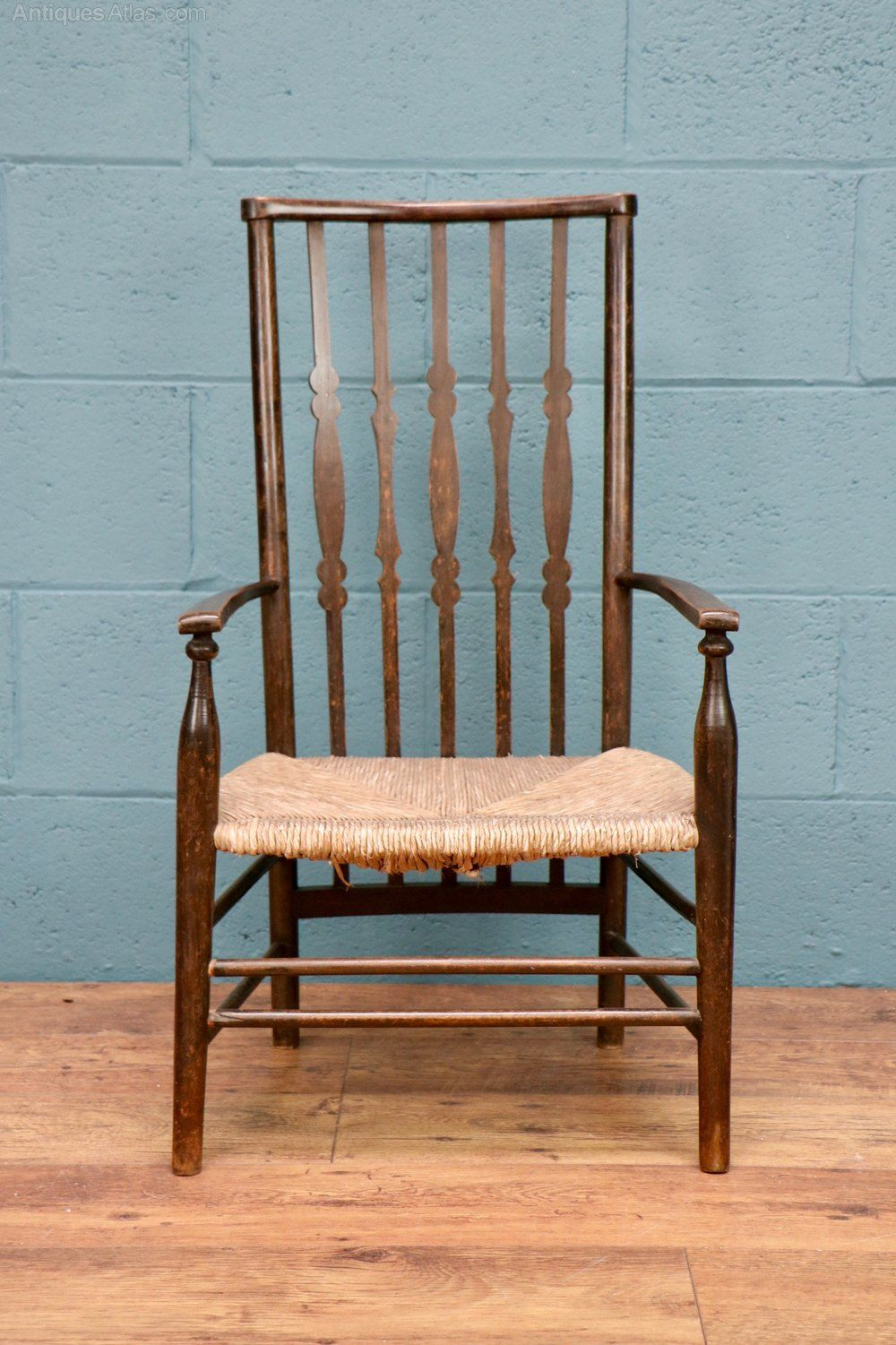 Arts And Crafts Fireside Chair By Liberty Co Antiques Atlas