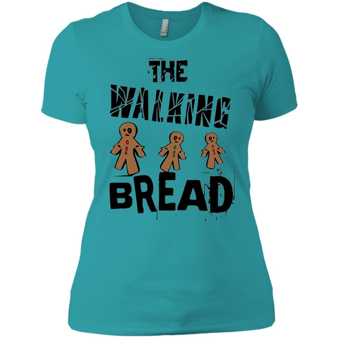 Get The Walking Bread Funny Zombie Gingerbread Cookies T Shirt
