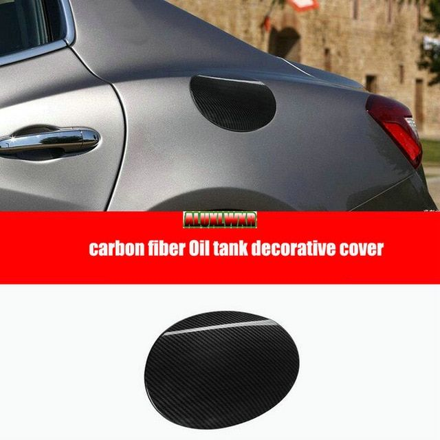 For Land Rover Discovery 5 2017-2018 ABS Chrome fuel tank cover oil gas cap trim