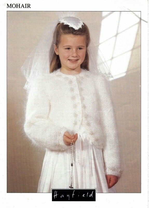 119d06df0823 Mohair cardigan..perfect for a winter wedding or first communion ...