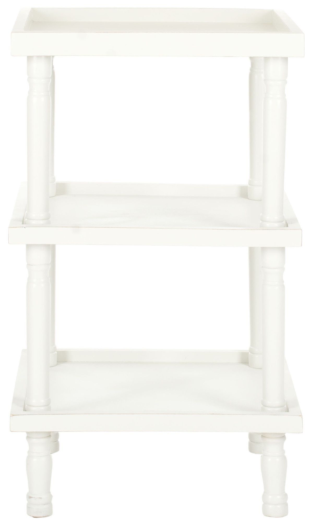 Safavieh Esmeralda End Table Table Furniture Furniture White Side Tables