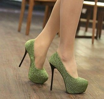 Zapatos De Tacon Alto Elegantes