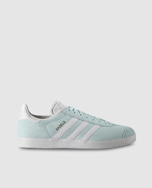 zapatillas mujer adidas azul claro