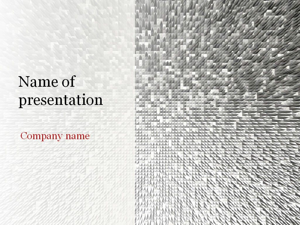 Silver Beauty Powerpoint Template  Templates
