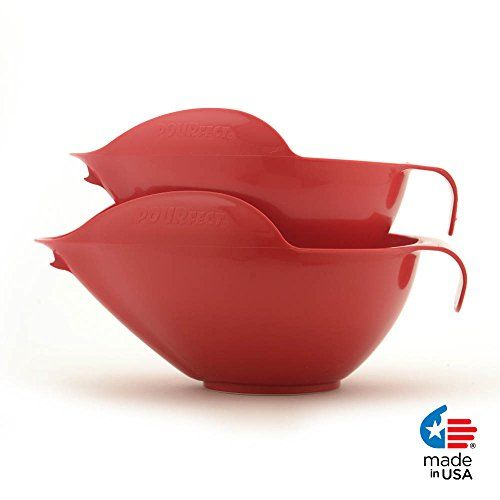POURFect 2 Piece Bowl Set 6 8 Cup Empire Red ** Read more reviews of the product by visiting the link on the image.