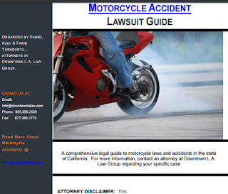 attorney for motorcycle accidents, motorcycle personal