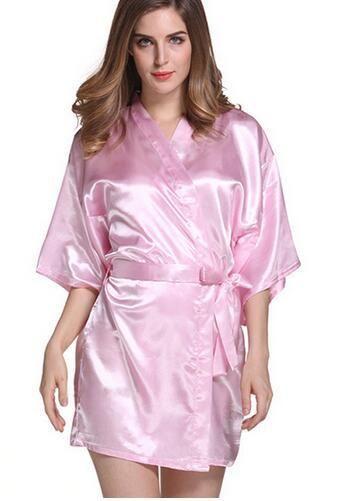 6504a5d861 Plus Size S-XXL 2016 Rayon Longue Bathrobe Womens Kimono Satin Long Robe  Sexy Lingerie Hot Nightgown Sleepwear with Belt