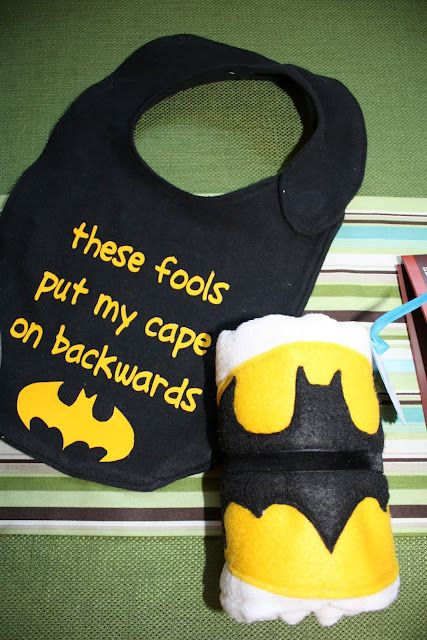 Batman cap/bib- @Kaitlyn Marie Marie Reed, one day, wayyyyy into the future when you have kids, they need this.