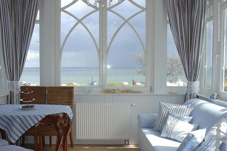 Ferienappartements mit Meerblick. Villa Hansa in