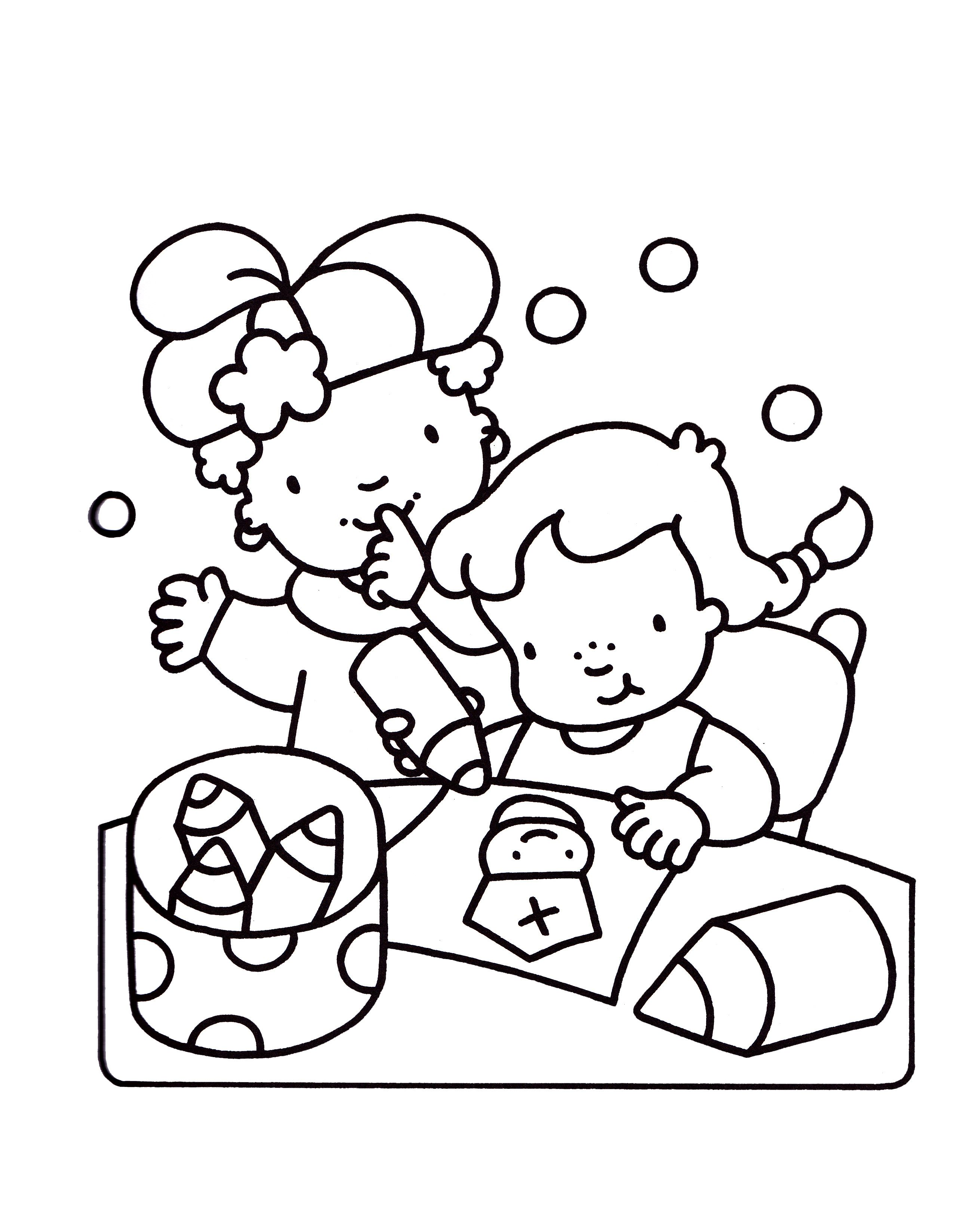 Uniek Frokkie En Lola Kleurplaten Sinterklaas