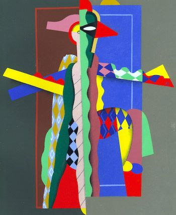 Colorful Composition I by Valmier