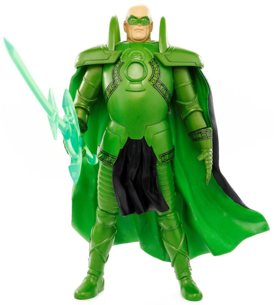 DC Direct Kingdom Come Series 1 Alex Ross GREEN LANTERN Alan Scott Action Figure #DCDirect