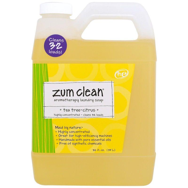 Indigo Wild Zum Clean Aromatherapy Laundry Soap Tea Tree Citrus