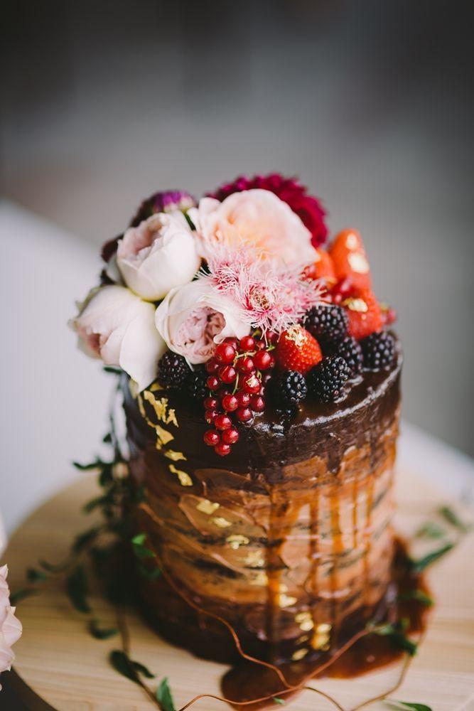 Naked Victoria sponge wedding cake | Sainsburys Magazine