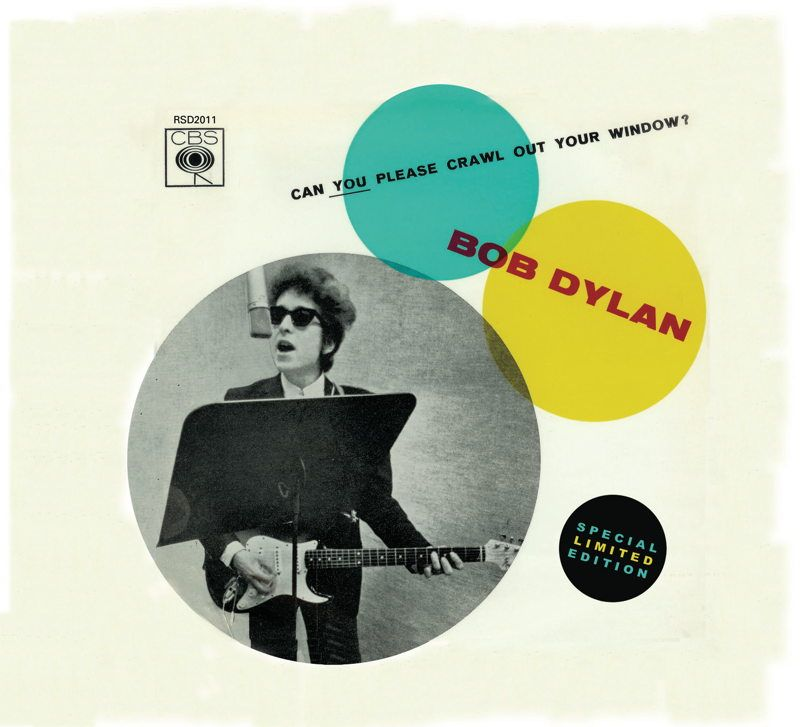 2011 RSD singles box with vintage artwork....for fans of Mr. Zimmerman...and who isn't???...