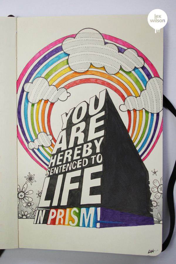 life in prism by lex wilson 50 beautiful sketchbook drawings for inspiration