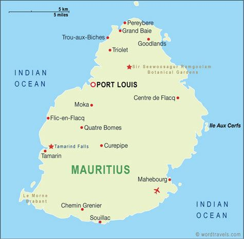Mauritius places visited pinterest mauritius mauritius mauritius on a map with its capital port louis gumiabroncs Gallery