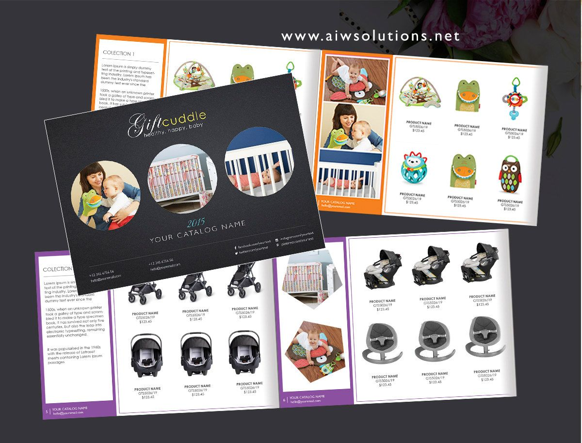 Booklet Template Wholesale Product Catalog Product Catalog