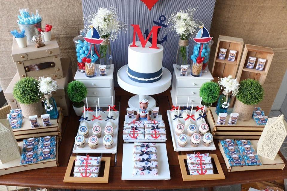 Pin de ana hernandez en mesa de dulces pinterest mesas for Decoracion marinera ikea