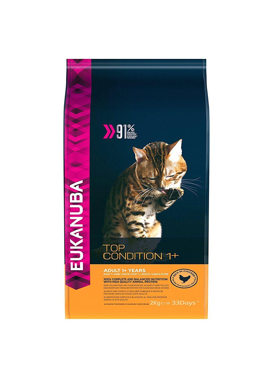 Eukanuba Adult Dry Cat Food Chicken Liver, 2 Kg Click