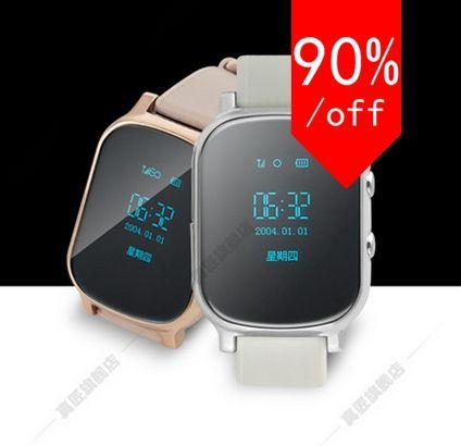 smart handyuhr kind armbanduhr anti verloren gps tracker