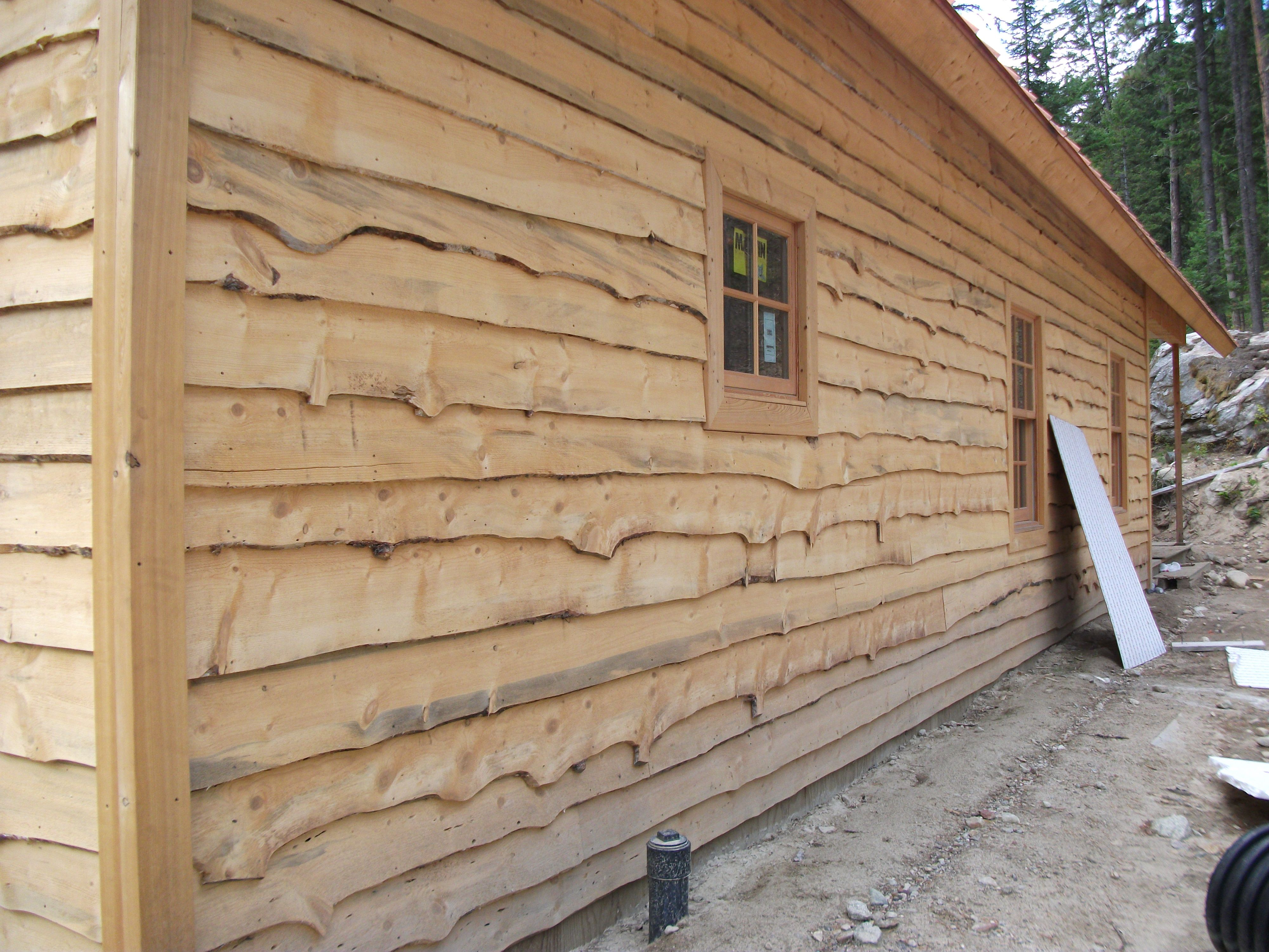 Wood Slab Siding Other Products Thick N Think Beams