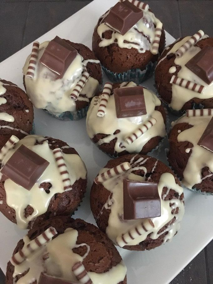 Kinderschokoladen-Muffins aus dem Thermomix #peanutrecipes