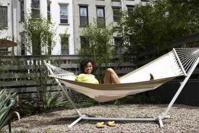 diy bamboo hammock stand diy bamboo hammock stand   diy  gettin u0027 crafty   pinterest      rh   pinterest