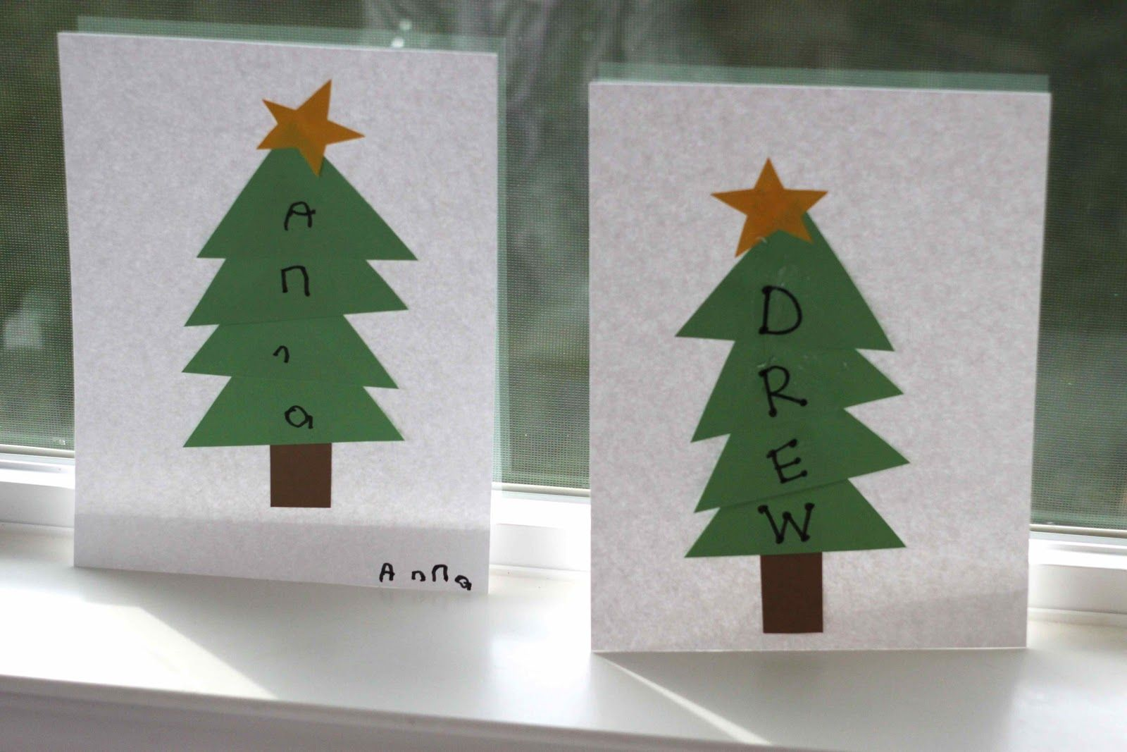Spelling Name Winter Trees