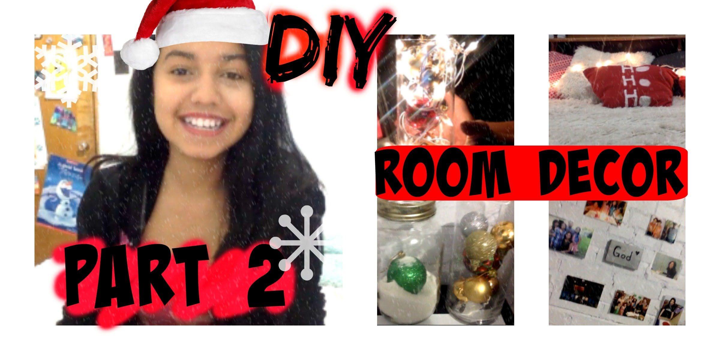 DIY Holiday Room Decor⎟Part 2⎟Lessy Avila