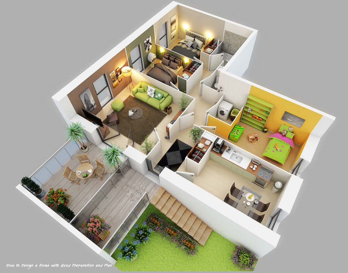 17 Galleries Of How To Design A Home With Good Preparation And Plan Floor Plan Design Apartment Floor Plans Bedroom House Plans
