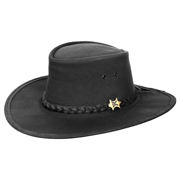 d0b8c197f65 Conner - Stockman Oily Australian Leather Hat