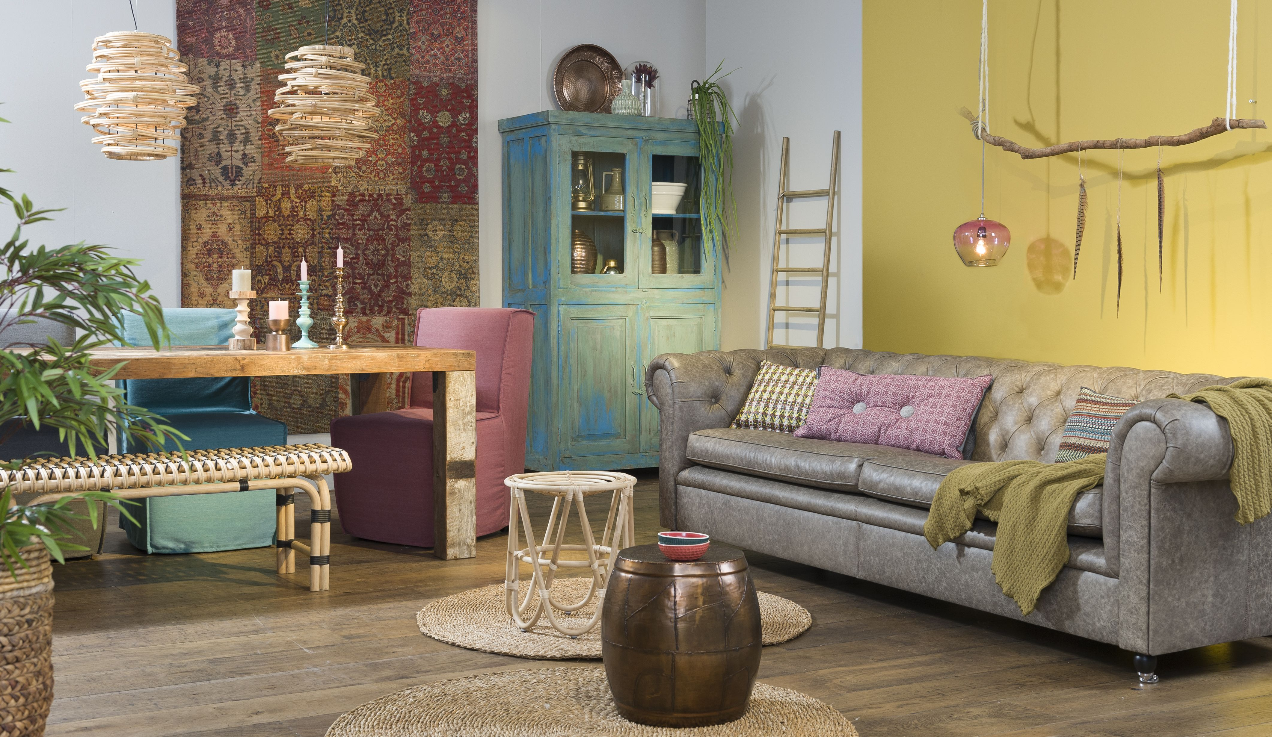 Arredamento Bohemien ~ Bohemian stijl studio eijerkamp #vtwonen #inspiratie #woonideeën