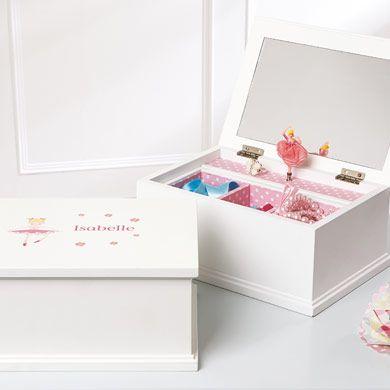Personalised Musical Jewellery Box, Ballerina   Stuff to Buy ...