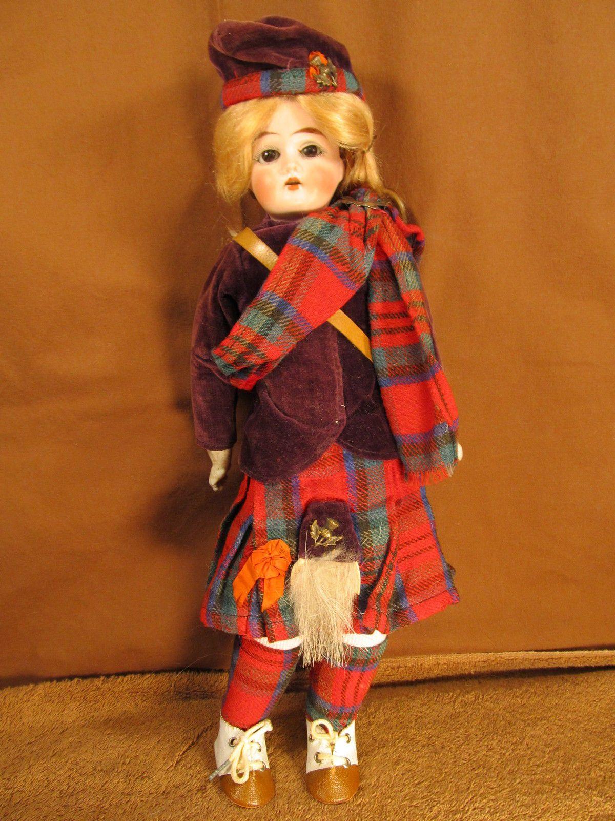 Friend - Scottish Doll Antique