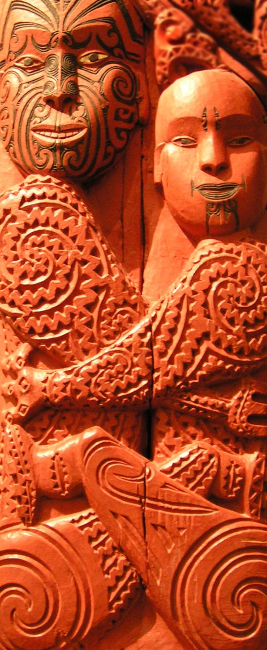 Maori carving in auckland war memorial museum nz our