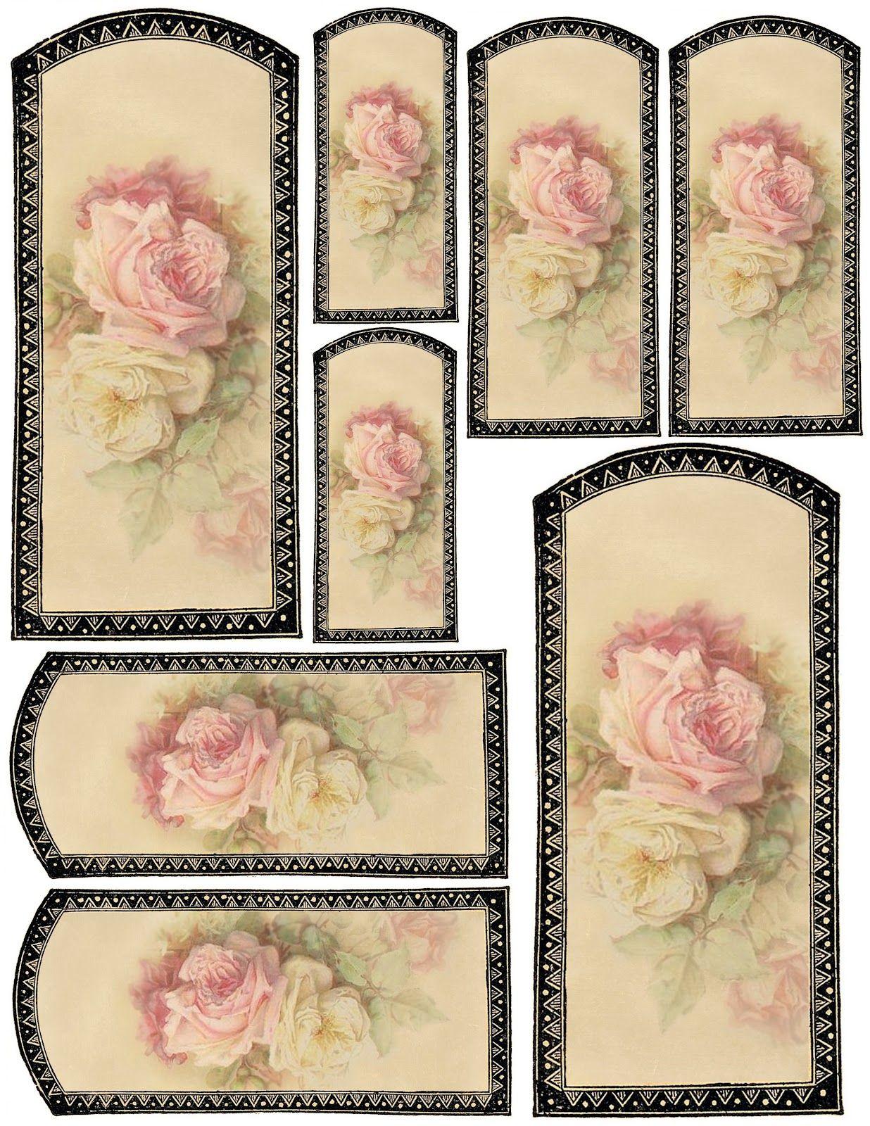 Lilac & Lavender: Vanilla & Roses ~ gift tags