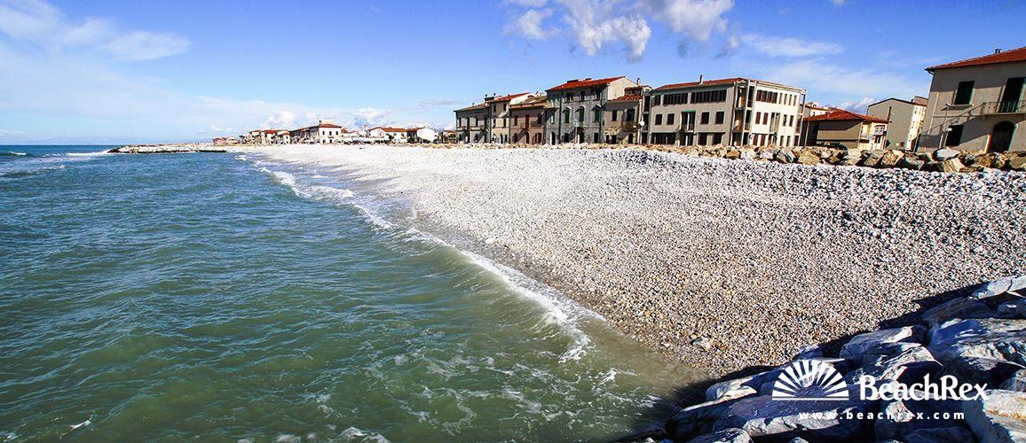 Beach Marina Di Pisa Marina Di Pisa Toscana Italy See