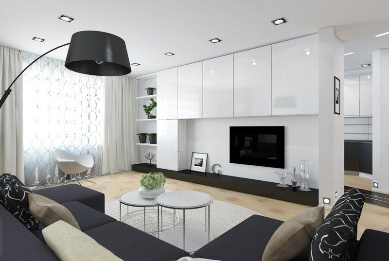 Salon moderne blanc - quels meubles et déco pour le réussir? Salons