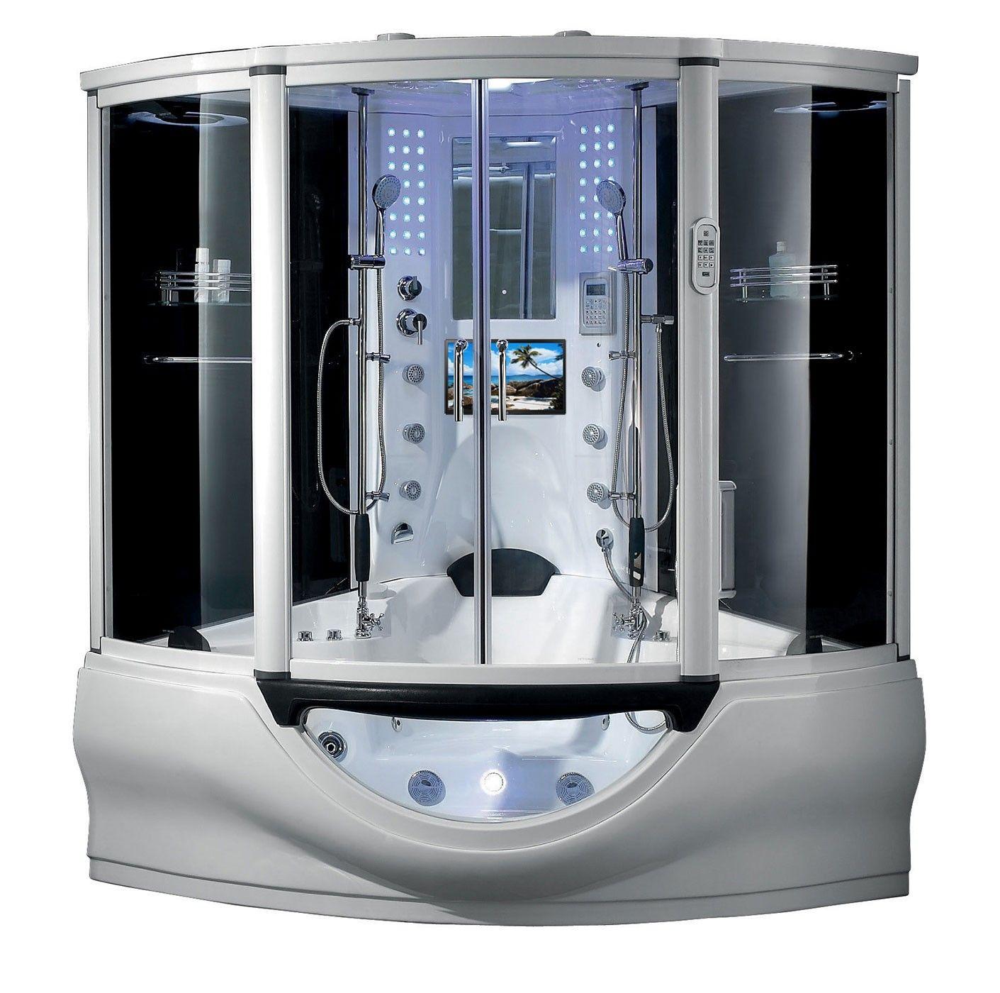 Luxury Bathroom Steam Shower Whirlpool Bathtub With Images