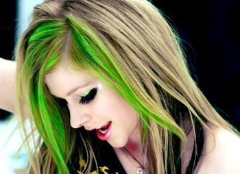 Green Hair Hair Streaks Green Hair Surf Hair