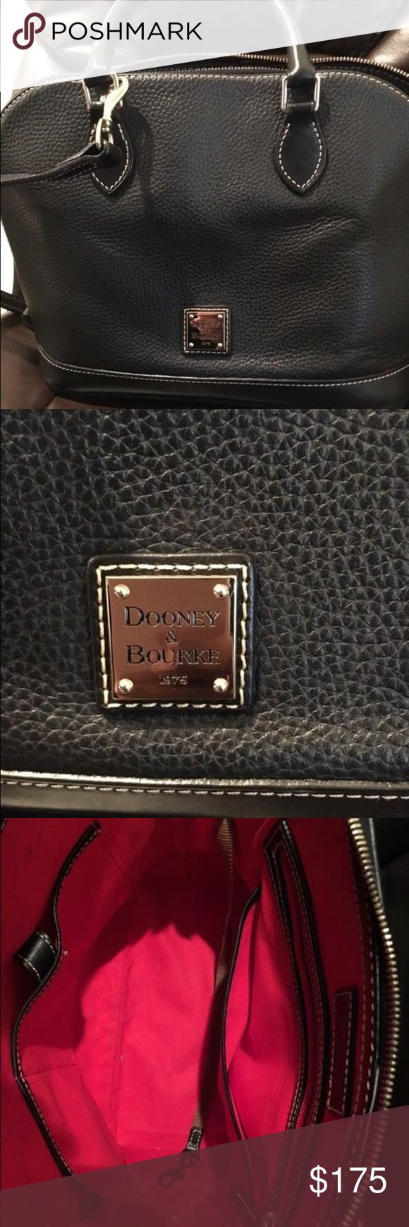 Dooney and Burke Bowling Bag style purse Black Dooney and Burke bowling bag style purse. Like new Dooney & Bourke Bags Shoulder Bags