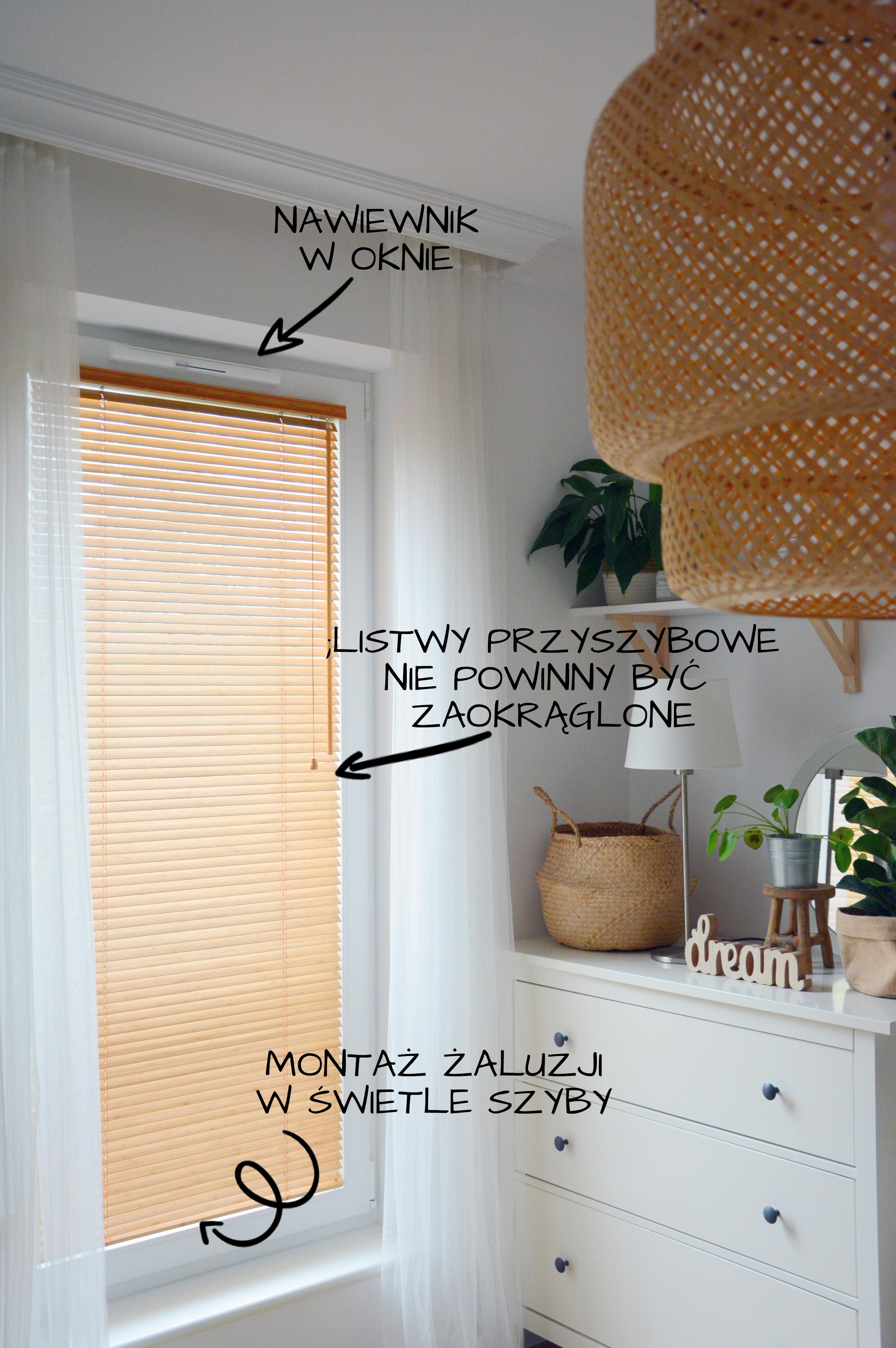 Montaz Zaluzji Na Oknie Z Wywietrznikiem Home Decor Bright Homes Decor