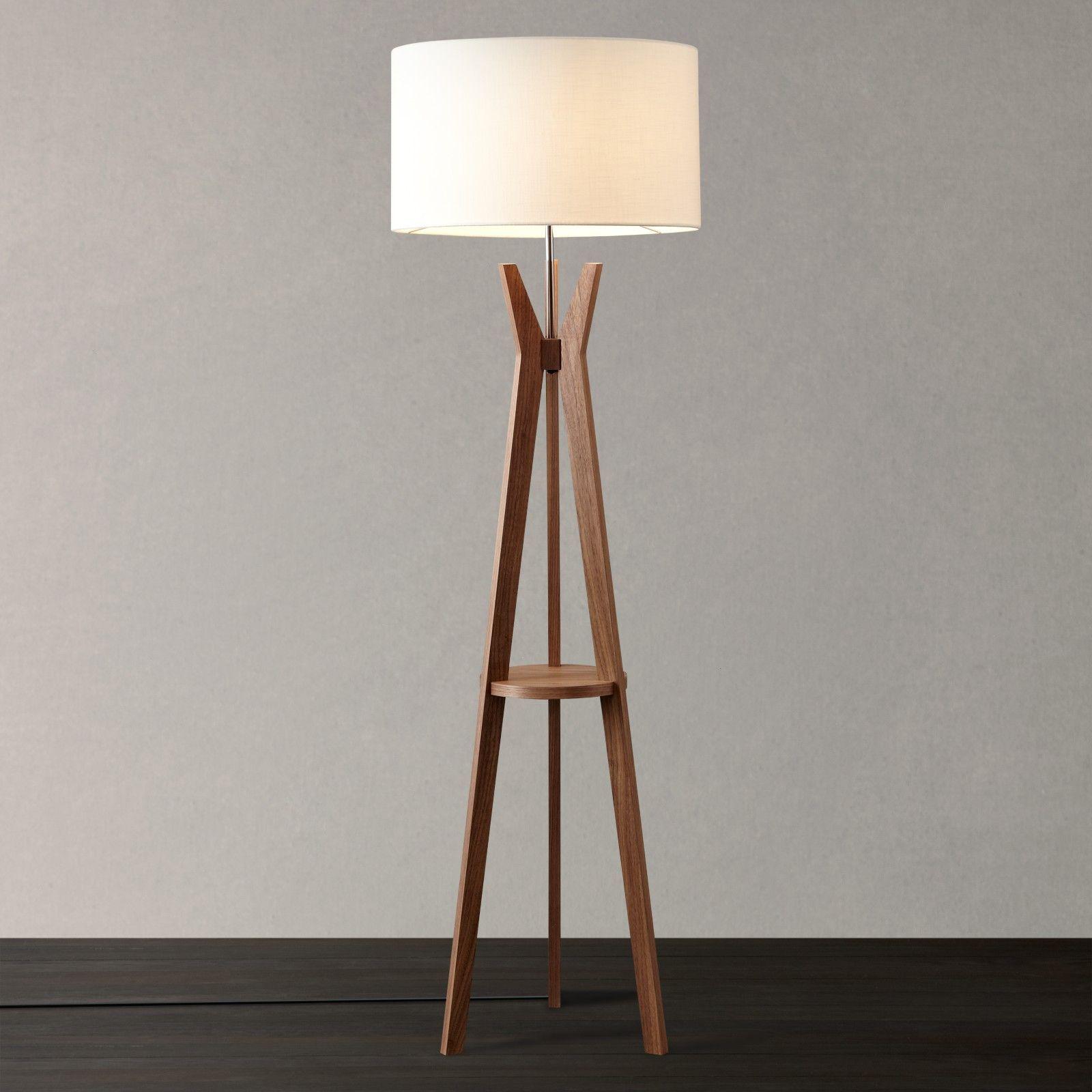 Buy i4DZINE Trafalgar Tripod Floor Lamp Walnut line at