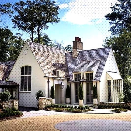 A charming French inspired house by Birmingham architects Shepard and Davis. •... - Dress Models