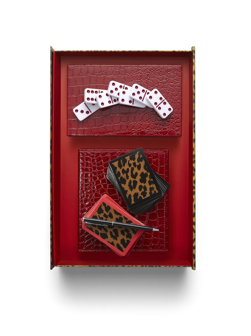 Chico's Bridge and Domino sets. With stylish carrying cases, they're great for on-the-go fun! #chicossweeps