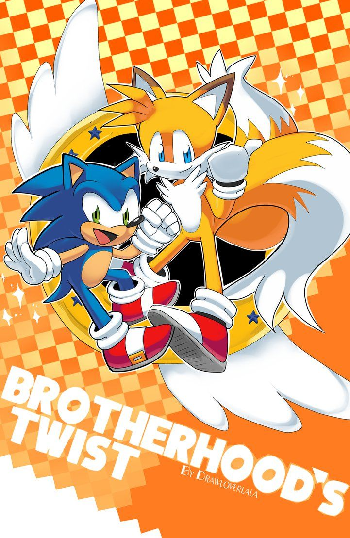 Brotherhood S Twist By Drawloverlala On Deviantart Sonic Fan Art