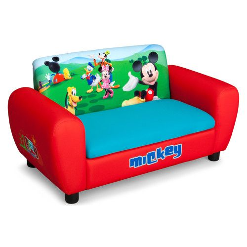 Delta Children Disney Mickey Mouse Kids Sofa