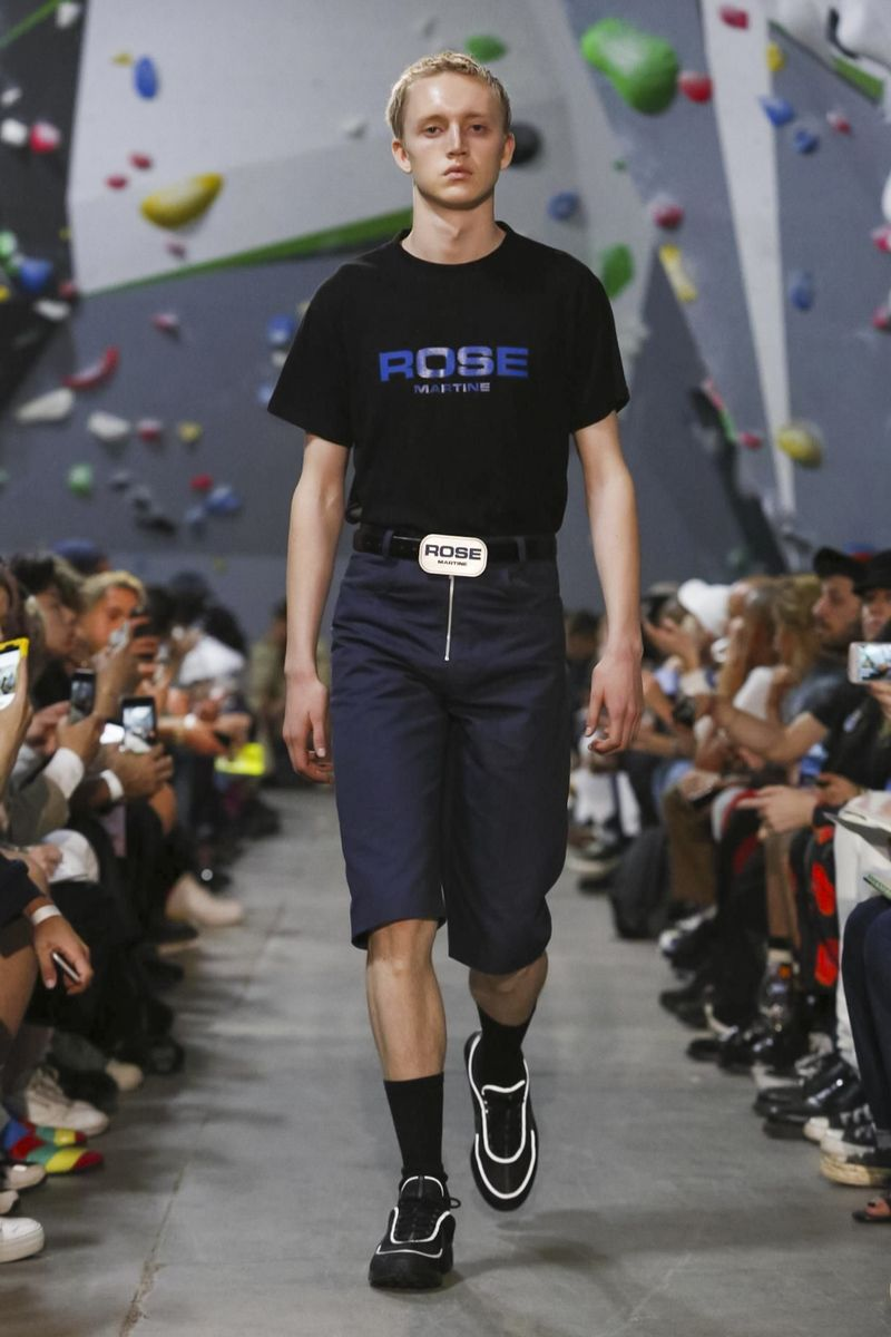 Martine Rose Fashion Show Menswear Collection Spring Summer 2018 London
