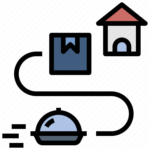 Delivery Food Home Home Delivery Parcel Service Shipping Icon Download On Iconfinder Parcel Icon Delivery